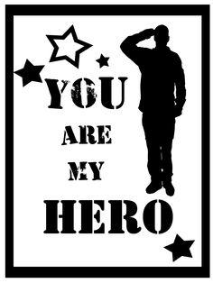 Military Patriotic Hero - **FREE ViNTaGE DiGiTaL STaMPS**