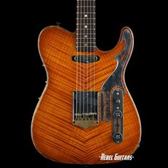"Scala Guitars Diamonds & Rust ""Chosen"" T-Rod in Burnt Burst"