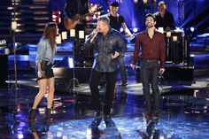 "Cassadee Pope and Cody Belew joined Rascal Flatts tonight to perform ""Changed!"" #TheVoice"