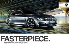 """Bmw is a high end automaker that is constantly trying to attract new customers. This ad shows their new campaign which features their new slogan """"Designed for driving pleasure.""""  Link: http://www.motorauthority.com/news/1082409_bmws-new-ad-slogan-is-designed-for-driving-pleasure-video"""