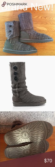 Brand New Gray Cardy Ugg Boots Brand New never worn, in awesome condition! Got two pairs as a gift the same Christmas so I never wore this pair. UGG Shoes
