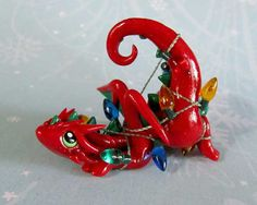 Red dragon by DragonsAndBeasties