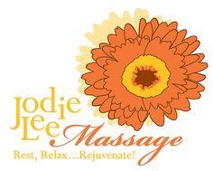 Jodie Lee Massage logo design
