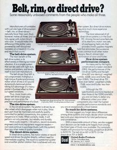 Dual Turntable ad