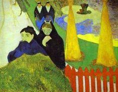 Paul GAUGUIN Femmes dans le jardin public d'Arles