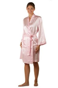 Short Silk Robe for Women - Midnight Jewel - 100% Silk Robe available in  Black d96c7063d