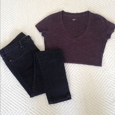 Black skinny pants The color is a little faded but other than that they are in great condition! Mossimo Supply Co. Pants Skinny