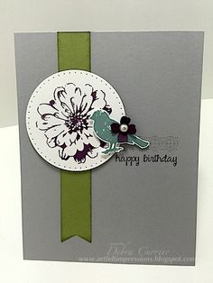 Birthday Happiness by pdncurrier - Cards and Paper Crafts at Splitcoaststampers