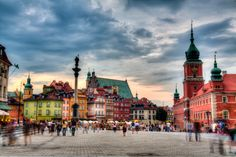 Old Town, Warsaw, Poland  Walk through every corner with #jasperkhoo (Plan T)