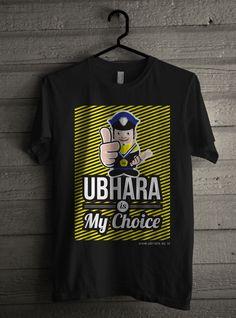 Tshirt design universitas bhayangkara