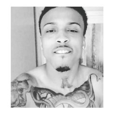 August Alsina ❤ liked on Polyvore featuring august. and people