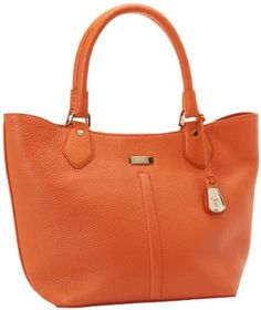 Cole Haan Village Serena Small B39683 Tote,Orange,One Size Cole Haan. $198.99