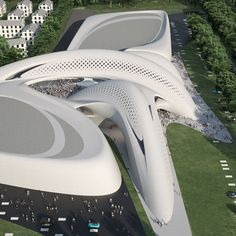 Jesolo resort - Zaha Hadid Architects (near Venice in Italy)