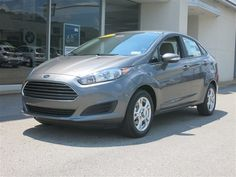 New 2014 Ford Fiesta SE Sedan (Gray Car) | Charleston