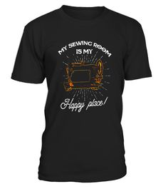 "# My Sewing Roomn Is My Happy Place Funny Seamstress T shirt .  Special Offer, not available in shops      Comes in a variety of styles and colours      Buy yours now before it is too late!      Secured payment via Visa / Mastercard / Amex / PayPal      How to place an order            Choose the model from the drop-down menu      Click on ""Buy it now""      Choose the size and the quantity      Add your delivery address and bank details      And that's it!      Tags: For all of you…"