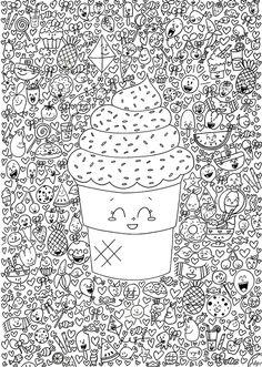 coloriage kawaii - by des p'tits riens