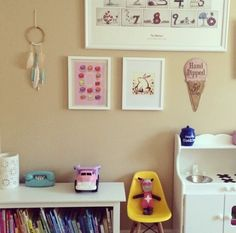 Quirky and lovely. Thanks to @ckim39! #estella #kids #decor #trixie