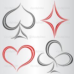 card suits in Poster Symbol Tattoos, Hand Tattoos, Sleeve Tattoos, Money Sign Tattoo, Joker Card Tattoo, Symbol For Family Tattoo, Family Symbol, Playing Card Tattoos, Spade Tattoo