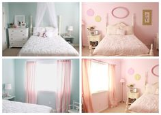 Pretty in Pink: Shabby Chic Bedroom