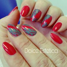 Manicure Cosmoprof Good Bay #DolceEstetica #shellac #manicure #cosmoprof2017 #Layering #tropix #hollywood #ArtBasil #polvereAcrilico #top #newcolor #nailart #cnd #ladybirdhouse
