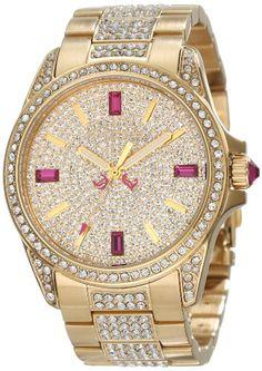 #JuicyCouture Women's Stella #Gold and Crystal #Bracelet #Watch #christmas #Gift #xmas #Gifts #amazon #amazonbasket #amazon #wishlist #giftideas