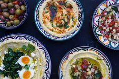 Hummus i alle varianter – Aichas Mat