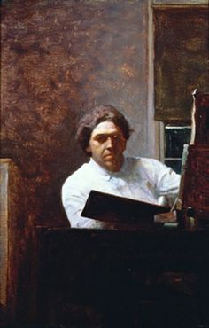 N.C. Wyeth, Self-portrait, 1913, oil on canvas. Private collection.