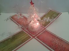Exploding Christmas tree box