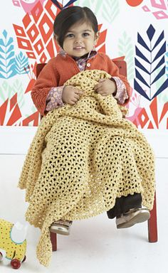Ravelry: Earth Baby Afghan pattern by Lion Brand Yarn