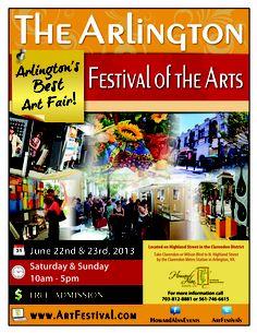 #art #festival #artfestival #fair #arlingtonvirginia