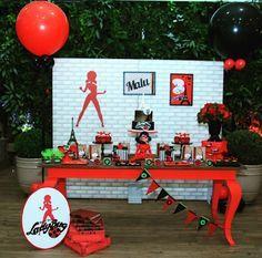 Ideas, decoración y manualidades para fiestas: 10 Ideas para tu mesa de dulces de ladybug