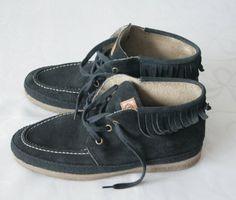 Vintage zwarte suede leder vrouw franje enkel laarzen lage voorjaar zelfstart Lace opwaarts laarsjes rubber enige Eco vriendelijke platte Mocassin slouchy boots