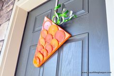 Make your doors pop with pretty for spring - on the cheap!