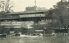 Frank Lloyd Wright, The Geneva Inn, Lake Geneva, Wisconsin, 1911, demolished in 1970 after a fire.