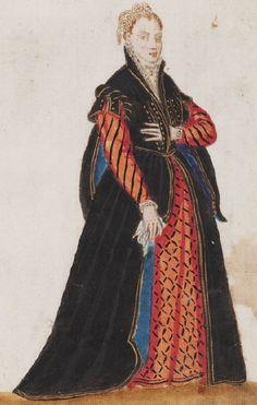 Mores Italiae, 1575 Renaissance Portraits, Renaissance Costume, Renaissance Clothing, Renaissance Fashion, Italian Renaissance, Elizabethan Costume, Elizabethan Era, Italian Hat, Italian Women
