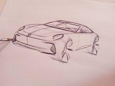 """109 Likes, 2 Comments - Berk Kaplan (@bkaplan111) on Instagram: """"#porsche #cardesign #sketch #sketchbook #car #design  #transportationdesign #transportation…"""""""