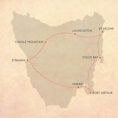 Itineraries for an epic Tasmanian road trip Many people wanting to experience the best of Tassie have no idea how to go about it. So, I Tasmanian Road Trip Map, 14 days Tasmania Road Trip, Tasmania Travel, Road Trip Map, Road Trip Hacks, Australian Holidays, Australian Road Trip, Roadtrip, Travel Advice, Travel Guides