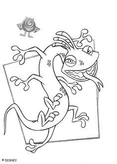 Randall 1 coloring page