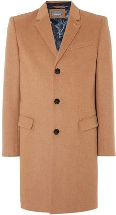 Linea Men's Bollington Overcoat