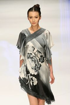 JOOOYS Zhao Yakun Haute Couture Collection of the China Fashion Week S/S Collection 2013 in Beijing, China.
