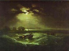 William Turner >> Pescadores en el mar