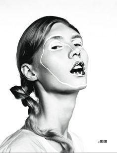 Isamaya Ffench, más allá del maquillaje   itfashion.com