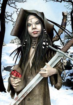 ' Jeune elfe à l'épée ' Bruno Bucero