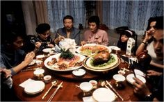 eat drink man woman - a chef who's losing his sense of taste, delicious food.  ang lee
