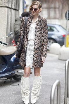 Street Style at Milan Fashion Week Fall 2013 | POPSUGAR Fashion Photo 2