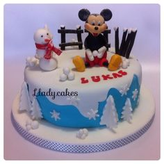 Mickey mouse - Cake by Llady