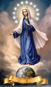 Our Lady, Queen of Peace, vorrei ascoltare un  altro video in questa mattina uggiosa, ma temo di andare in overdose, haha.