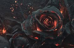Ars Thanea's smoldering rose bouquet.