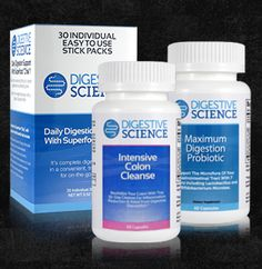 """Intensive Colon Cleanse System is a gentle process, designed with high-quality vitamins, minerals and fibers, that takes place over ten days. This gives your body time to process these essential nutrients, reduce GI inflammation and address nutritional deficiencies that build up with time. You Get Healthy weight management, Faster digestion, More energy, Better nutrient absorption & more! Utilize coupon code """"nicesup123"""" for a 25% discount at www.digestivescience.com"""