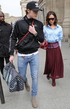 The Best Dressed Men Of The Week: Brooklyn Beckham in Paris. #bestdressedmen #brooklynbeckham